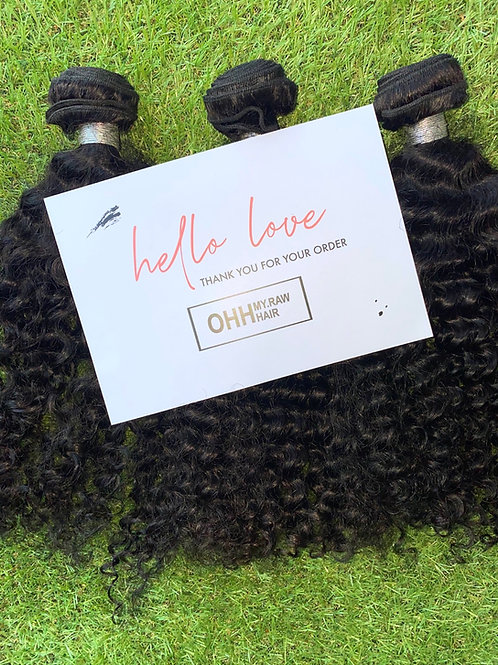 Mink curly