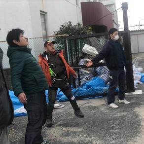台風21号 大阪支援活動 2/16~17