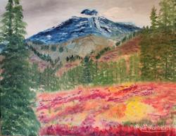 Fall in mountain