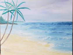 Tropical Beach Wave