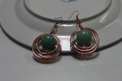 Hoop earrings multi layer flat wire