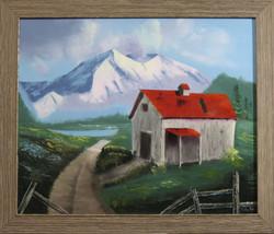 NW Barn (framed)