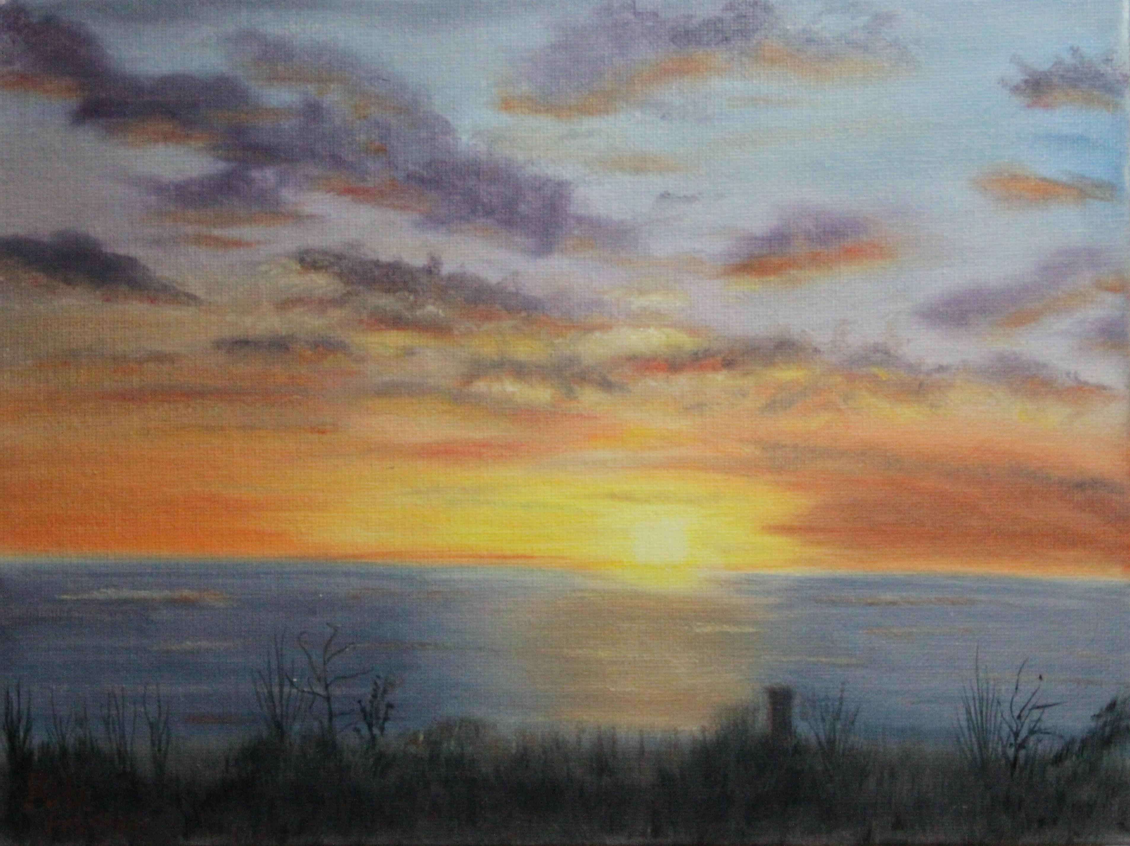 Sunset in Ocean Shores