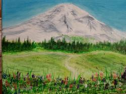 PTA-21-005 Mount Rainier (8x10 in)