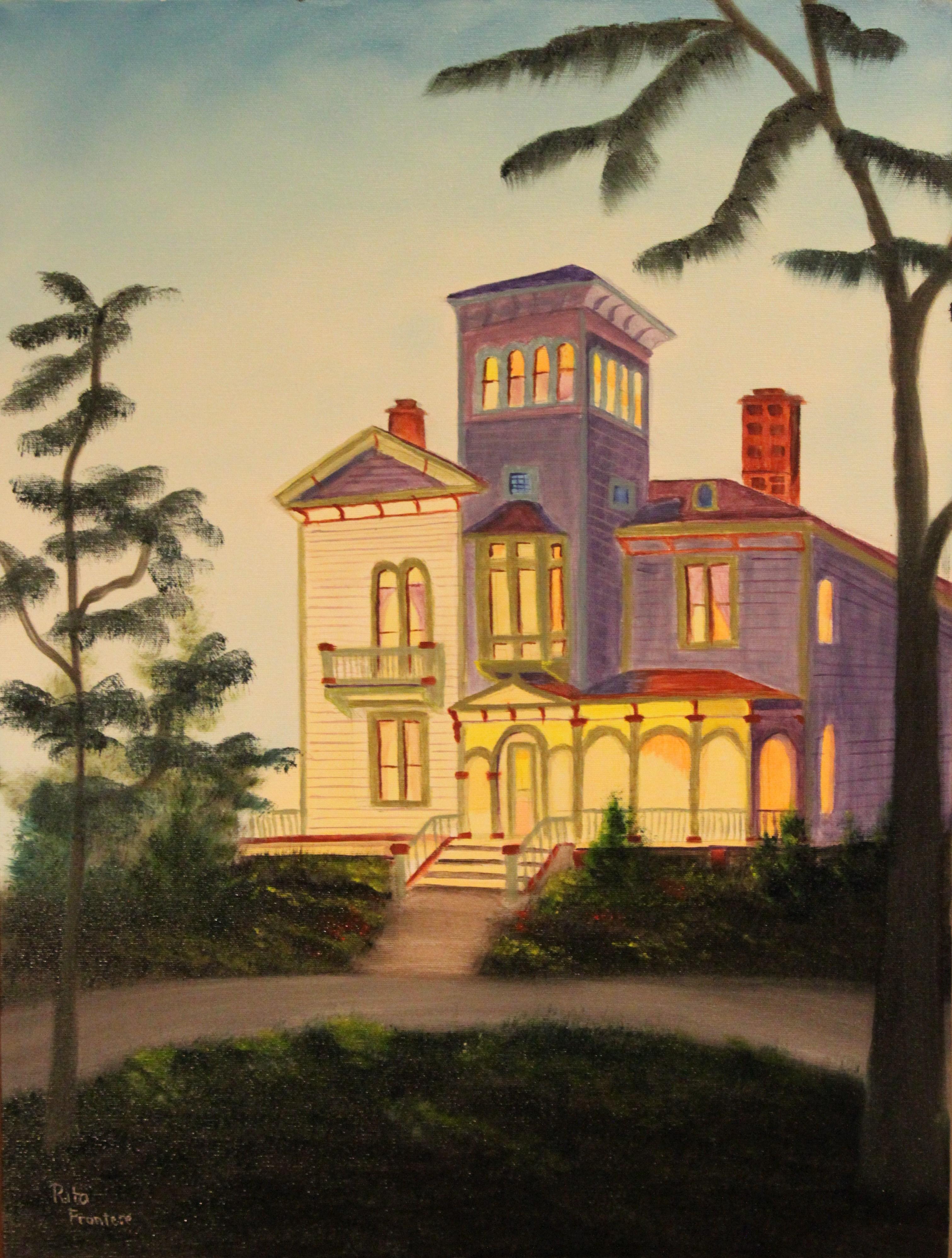Victoria home (18x24 in)