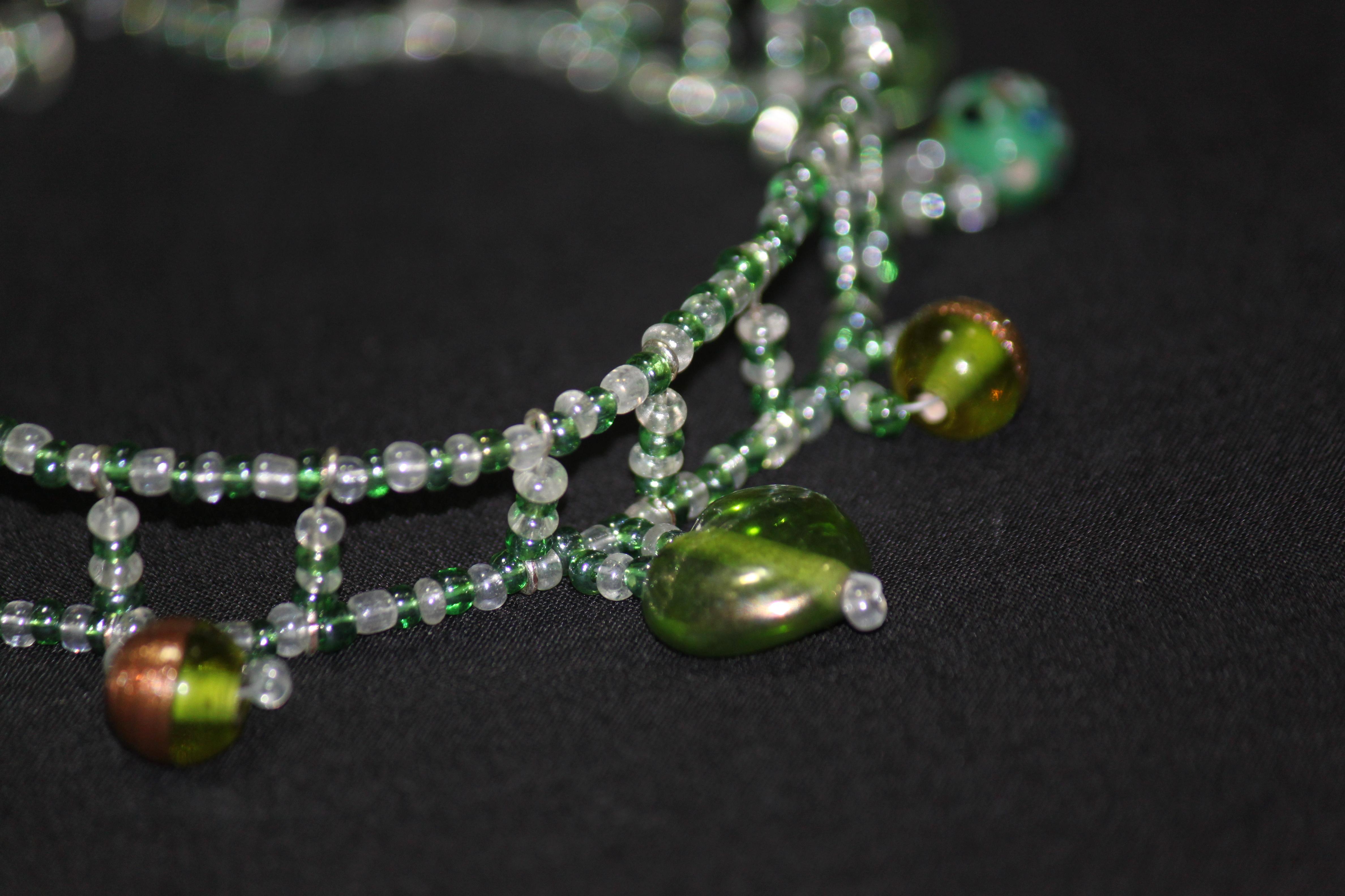 Emerald Green Choker