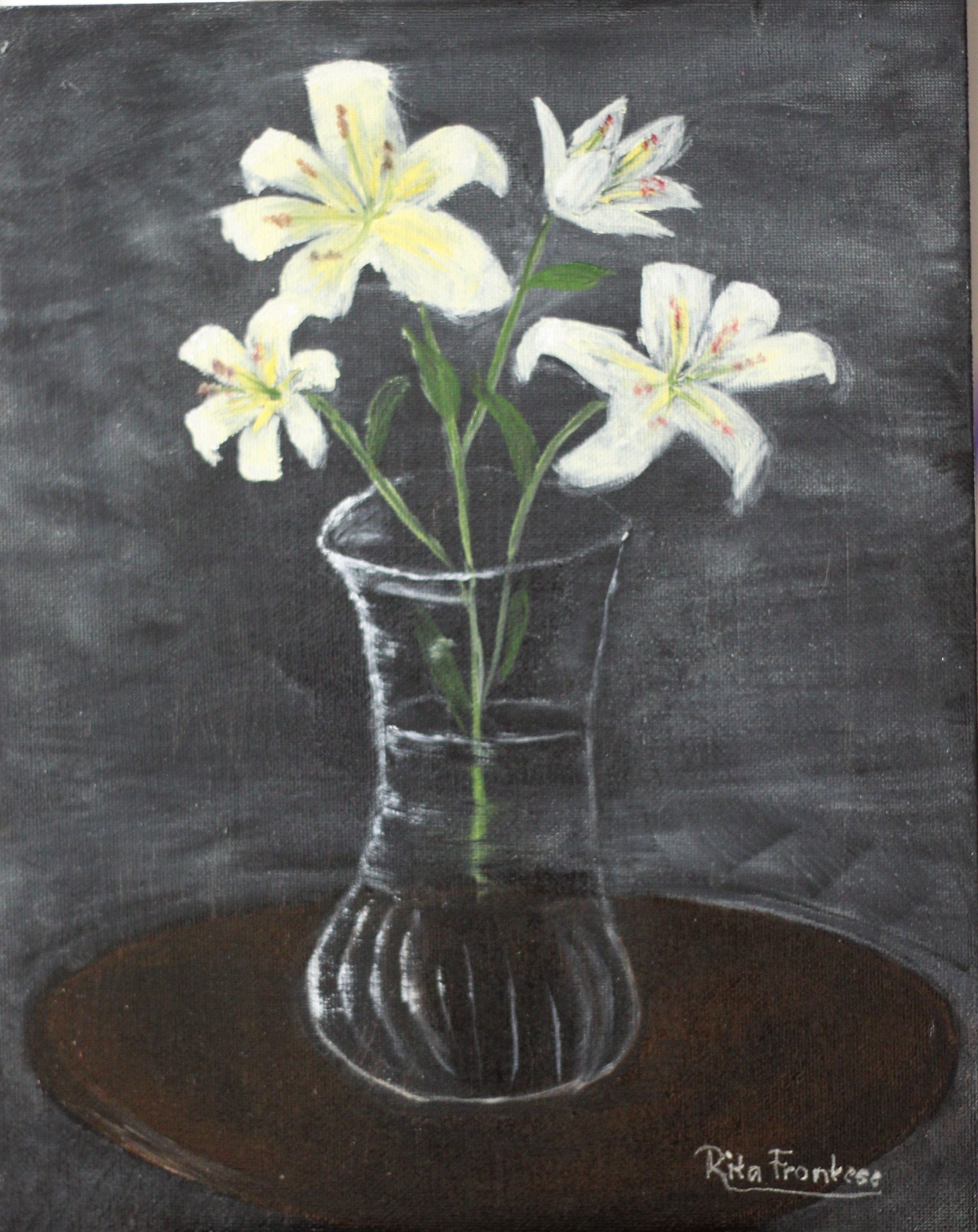 Lilies in the vase