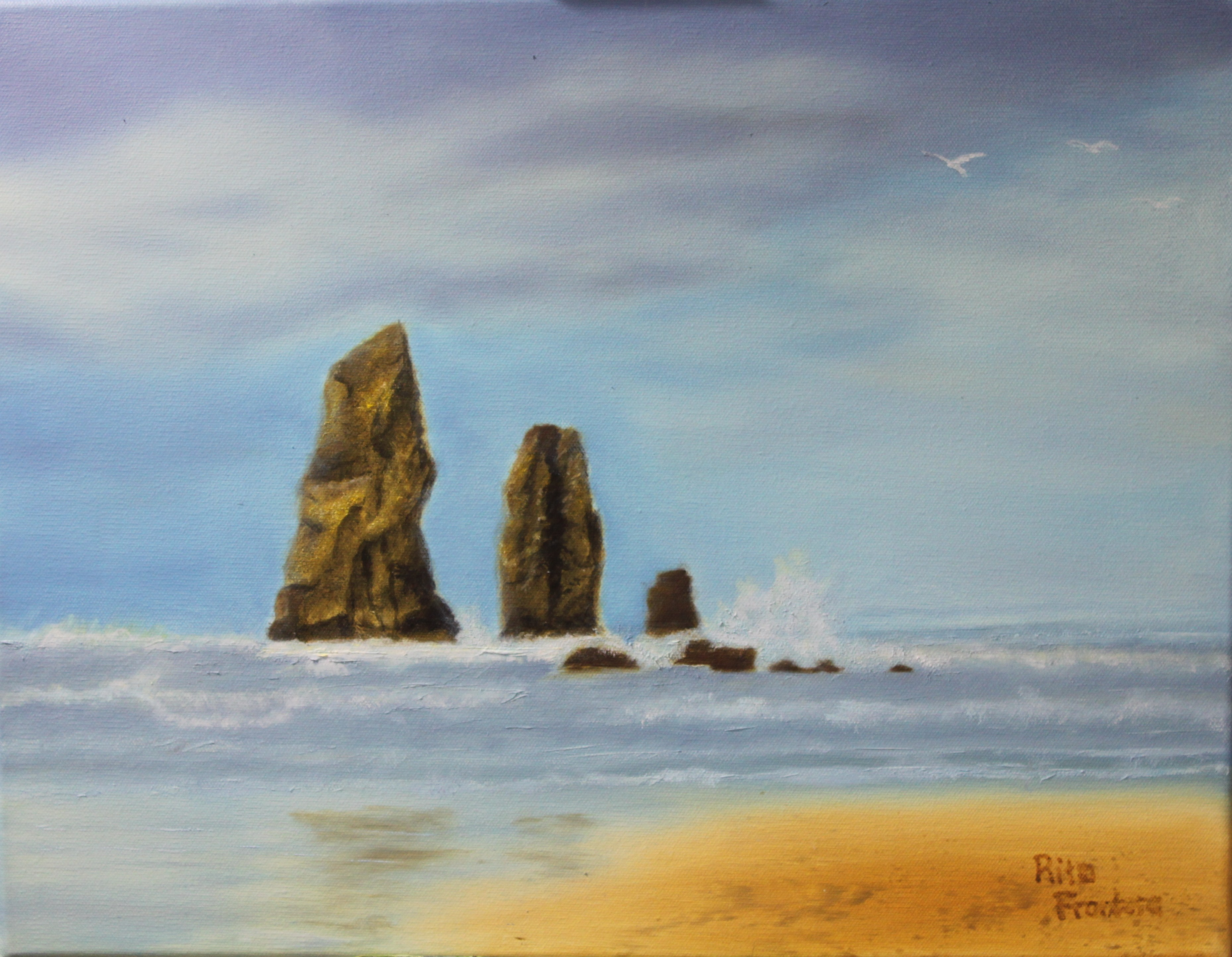 Rocks in Canon Beach