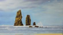 Cannon Beach (1) - Haystack Rocks