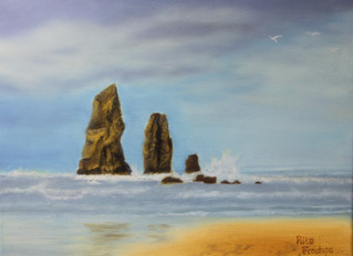 Cannon Beach (1) - Haystack Rocks