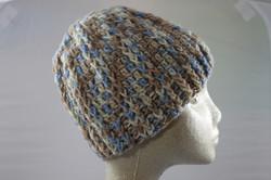 Ridged Crochet Hat - Mirage