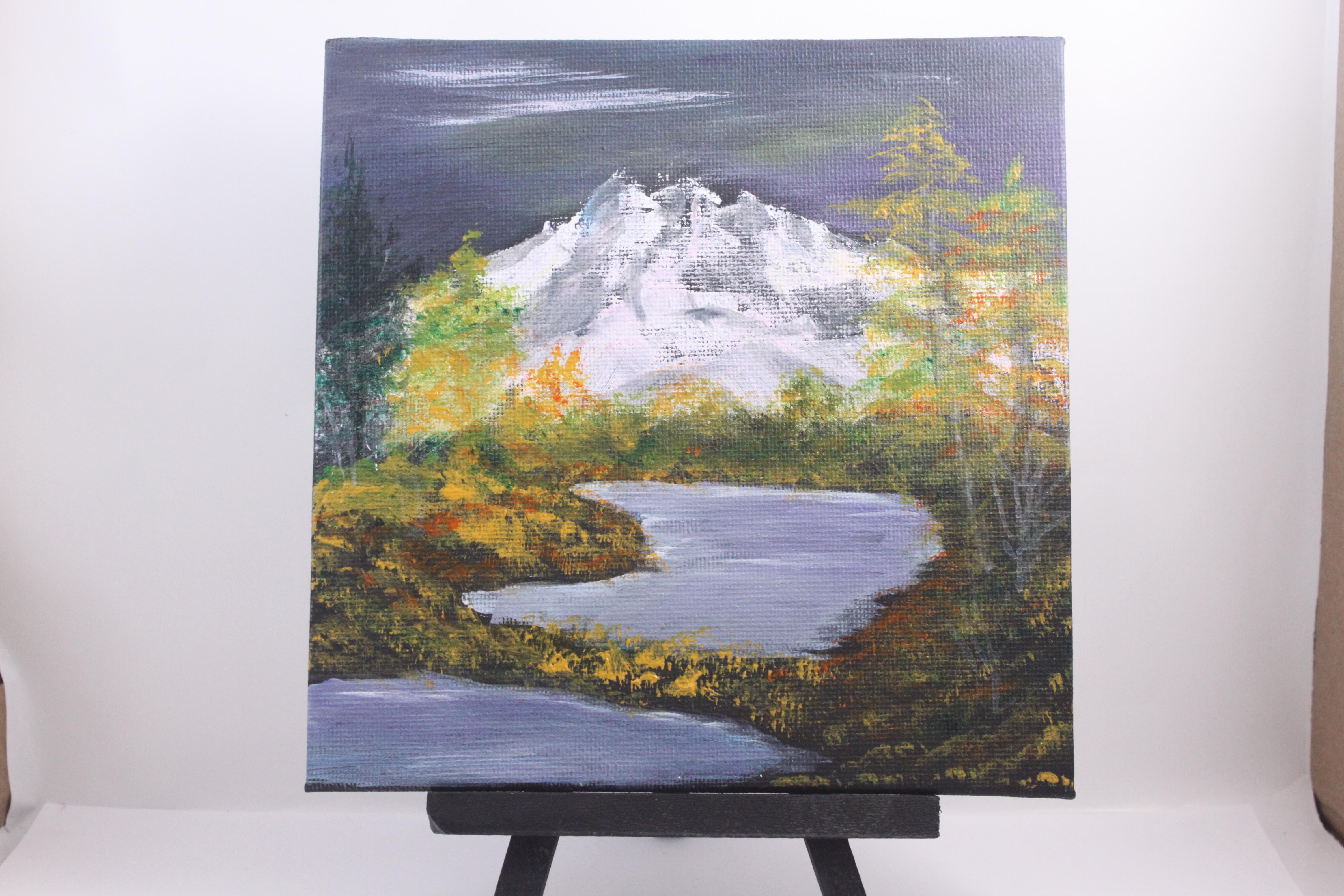 Mountain twin lake
