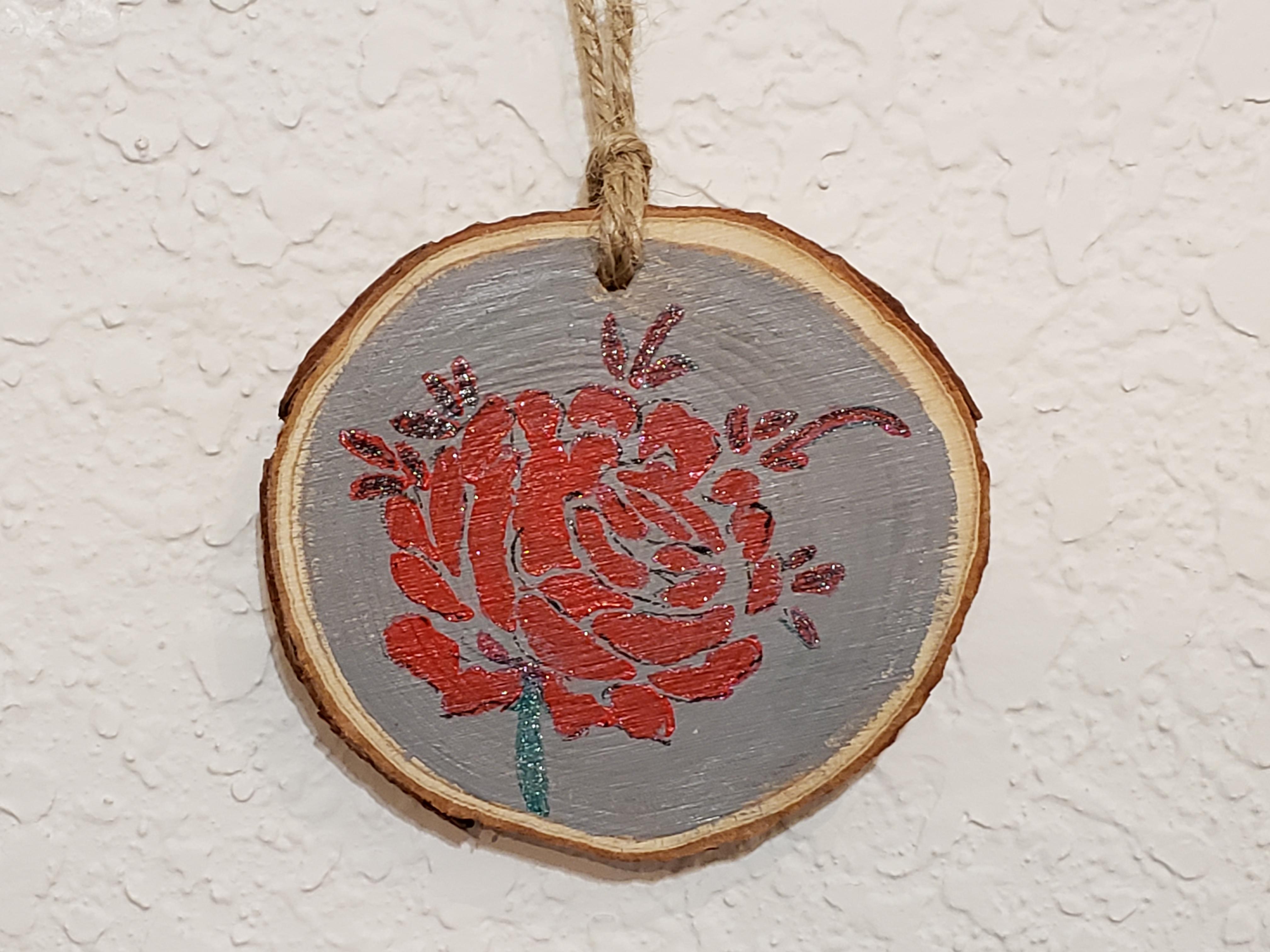 WSP-20-002 Stencil - Red Rose