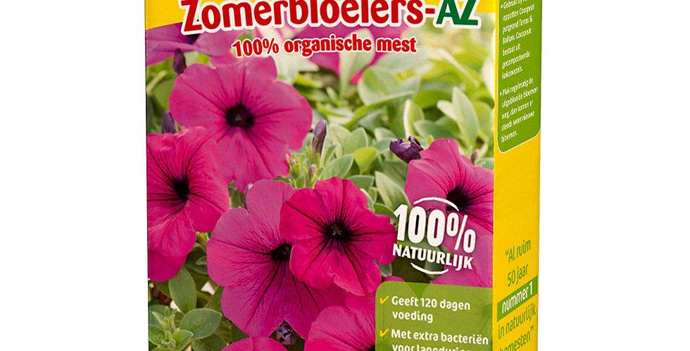 Zomerbloeiers-AZ geeft kleurrijke eenjarige zomerbloeiers.
