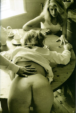 Spanking caning coporal punishment
