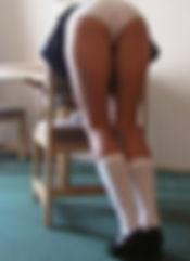 Schoolgirl, spanking, corporal punishment
