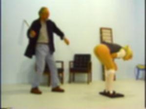 martinet, corporal punishment, schoolgirl