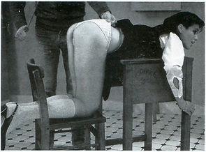 Caning, schoolgirl, corporal punishment