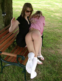 Spanking, OTK, schoolgirl, corporal punishment