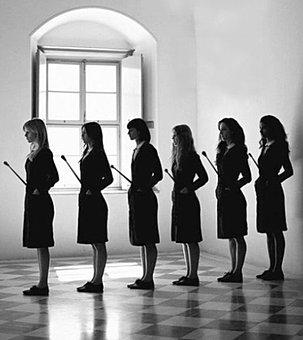 Four girl school corporal punishment - 3 part 4