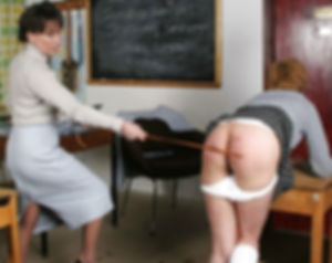 Caning, corporal punishment, schoolgirl, spanking