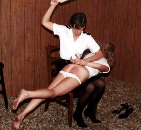 spanking, corporal punishment, OTK