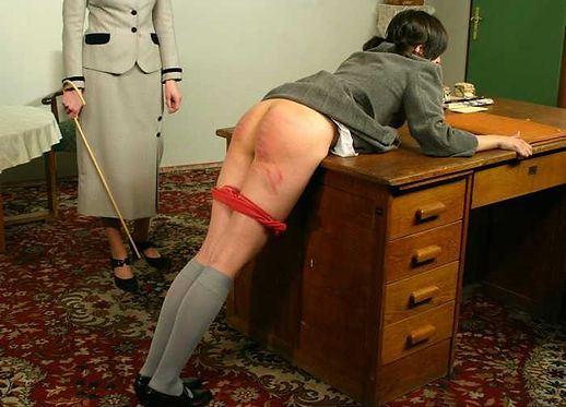 Caning, corporal punishment, schoolgirls