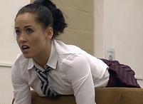 Schoolgirl, corporal punishment, spanking