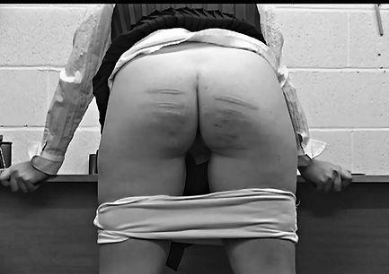 Caning, spanking, corporal punishment, schoolgirls