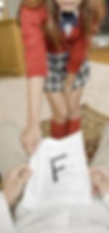 Schoolgirl, corporal punishment
