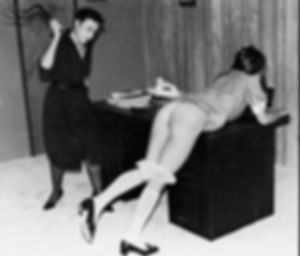 martinet, schoolgirl, spanking, corporal punishment
