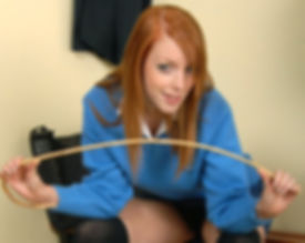 Schoolgirl, caning, corporal punishment