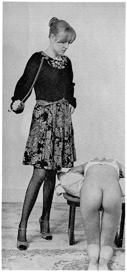 Caning, corporal punishment, schoolgirl
