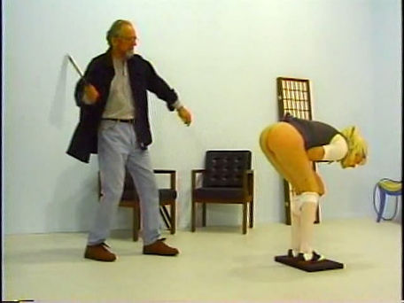 spanking, martinet, corporal punishment