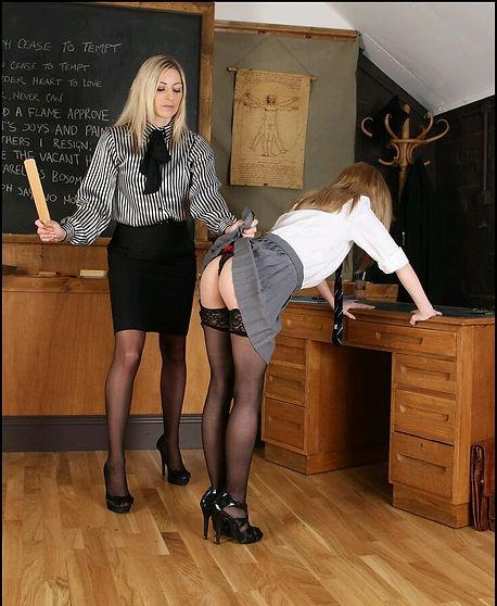 Spanking, paddling, corporal punishment, schoolgirls