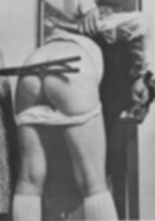 Tawse, spanking, schoolgirl, corporal punishment