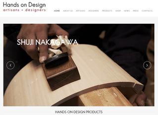 New Hands on Design website online!