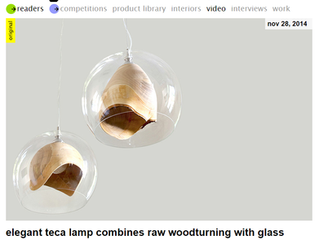 Teka Lamp published by Designboom