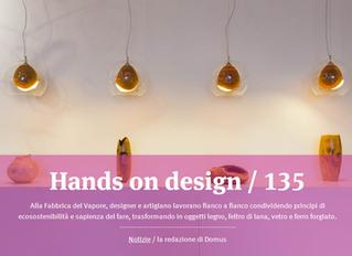 Hands on Design on Domus web!