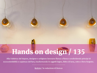 Hands on Design on Domus web!