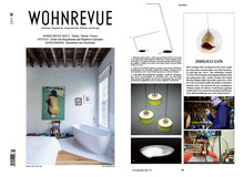 Teca is published in the swiss magazine Wohnrevue!