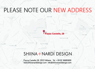 Our new location in Milan