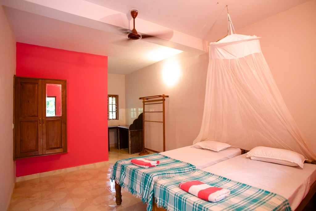 8. HOME Patnem_Garden View Rooms_bedroom