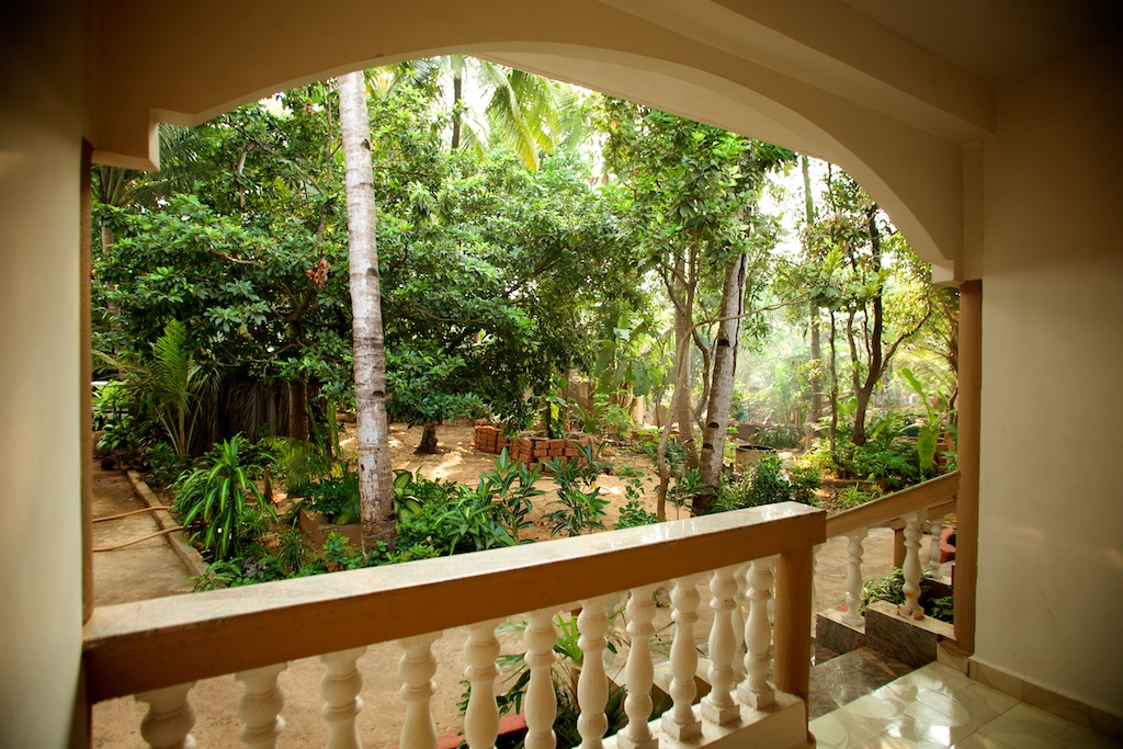 10. HOME Patnem_Garden View Rooms_balcony view