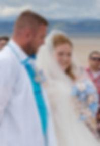 Wedding at Nairn Beach