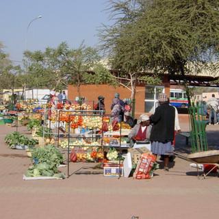 Market at Bobonong