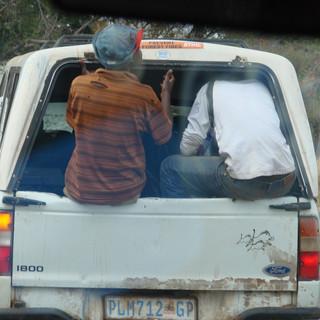 Bakkie passengers Alldays