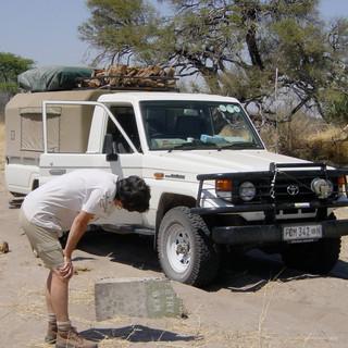 Botswana signage