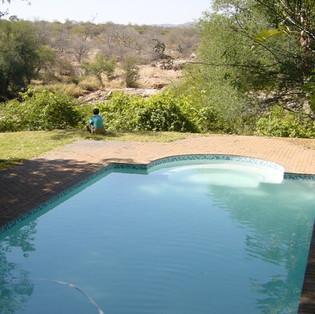 Swimming pool at Lulu's Camp