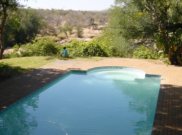 Swimming pool at Lulu's Camp